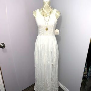 Beautiful High/Low Maxi Dress